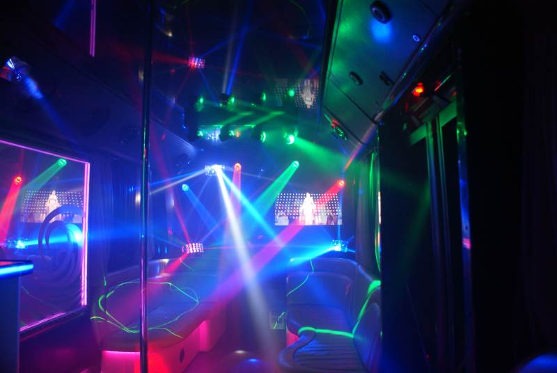 Танцпол Party Bus Golden Prime